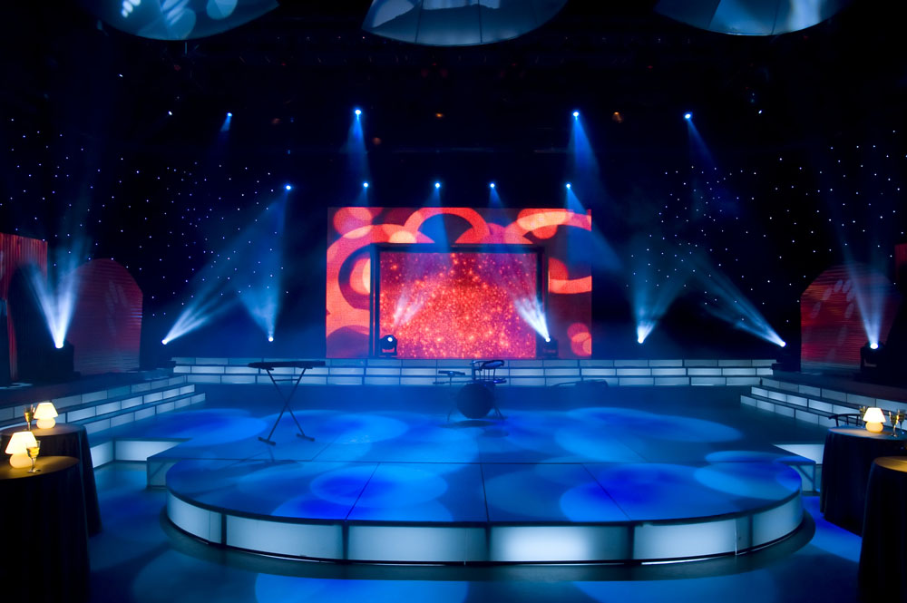 Stage lighting and sound detection knowledge